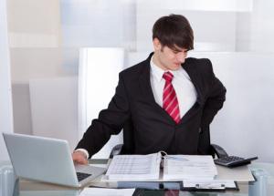 OFFICE WORKER PROLONGED SITTING